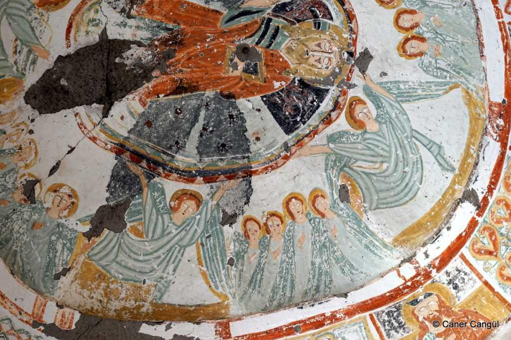 Ihlara Vadisi Ağaçaltı Kilisesi Freskleri