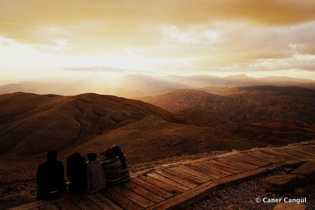 Nemrut'ta Günbatımı | Caner Cangül Fotoğrafları